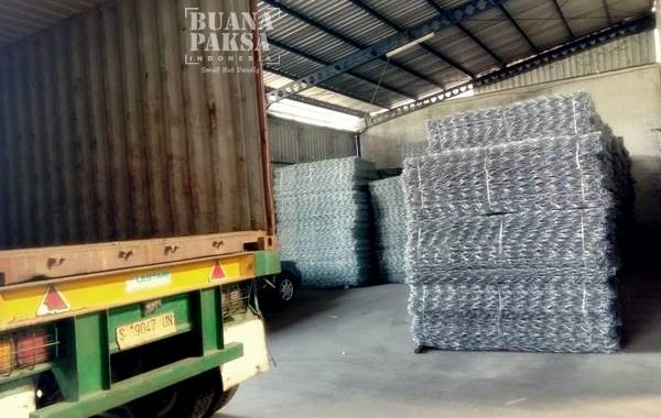 Distributor Kawat Bronjong Manual Hulu Sungai Tengah